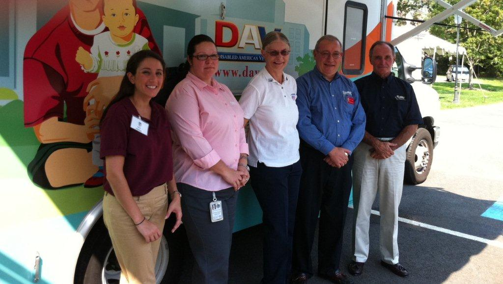 Photo of DAV Mobile Services Office (MSO) at the AAFMAA DAV Open House event